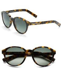 Marc New York - 52mm Round Sunglasses - Lyst