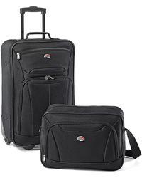 American Tourister Fieldbrook Ii 2-piece Luggage Set - Black