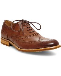 Steve Madden - Gionni Leather Wingtip Oxfords - Lyst
