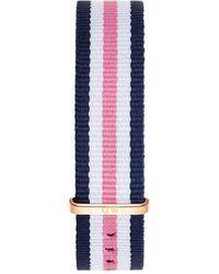 Daniel Wellington - Southampton Striped Nylon Nato Watch Strap - Lyst