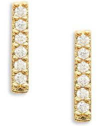Tai - Stick Stud Earrings - Lyst