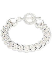 Lauren by Ralph Lauren Chainlink Toggle Bracelet - Metallic