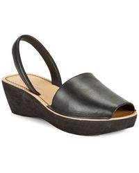 Kenneth Cole Reaction - Fineglass Platform Slingback Sandals - Lyst