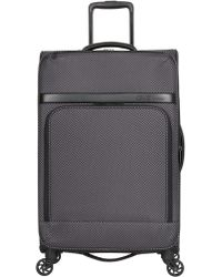 Ben Sherman - 600d Printed Polyester Expandable 4-wheel Upright Suitcase- 24in - Lyst