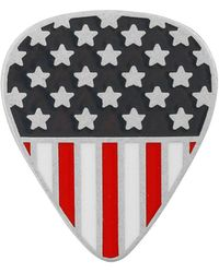 Lucky Brand - Silvertone Usa Flag Pin - Lyst