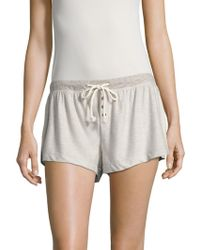C&C California - Terry Solid Shorts - Lyst