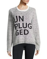Bench - Unplugged Textured Knit Jumper - Lyst