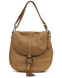 Lucky Brand - Athena Convertible Leather Saddle Bag - Lyst