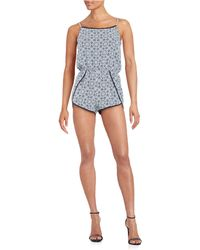 Lord & Taylor | Crochet-trimmed Romper | Lyst