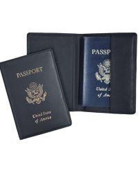 Royce - Handcrafted Rfid Blocking Passport Document Organizer - Lyst