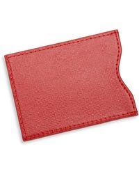 Royce - Rfid Blocking Credit Card Sleeve - Lyst