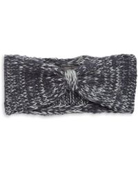 Wooden Ships - Marled Wool-blend Knit Bow Headband - Lyst