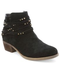 Kensie - Gilberto Suede Ankle Boots - Lyst