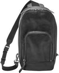 Fossil - Mayfair Leather Crossbody Backpack - Lyst