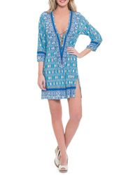 Blush By Profile - India Cover-up Tunic - Lyst