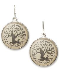 ALEX AND ANI - Tree Of Life Necklace Charm - Lyst