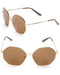 B Brian Atwood - 59mm Square Sunglasses - Lyst