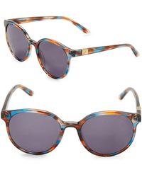 B Brian Atwood - 52mm Round Sunglasses - Lyst