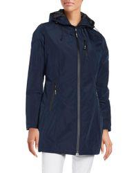 Halifax Traders - Hooded Raincoat - Lyst