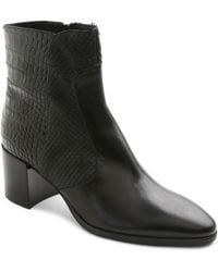Andre Assous - Miranda Textured Ankle Boots - Lyst