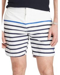 Lauren by Ralph Lauren - Monaco Stripe Shorts - Lyst