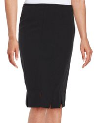 Nipon Boutique - Crepe Pencil Skirt - Lyst