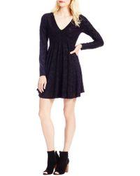 Jessica Simpson - Vera Floral Jacquard Skater Dress - Lyst