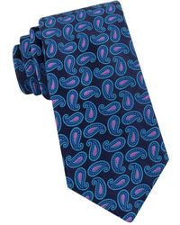 Ted Baker - Party Pine Embroidered Paisley Woven Silk Tie - Lyst
