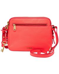 Fossil - Toaster Piper Leather Crossbody Bag - Lyst