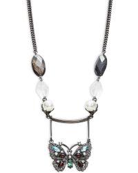 Gerard Yosca - Butterfly Pendant Necklace - Lyst