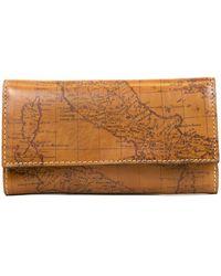Patricia Nash - Terresa Map Print Leather Wallet - Lyst
