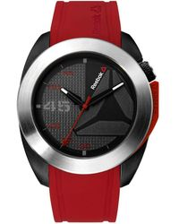 Reebok - Sidekick Oxo Stainless Steel And Silicone Strap Watch - Lyst