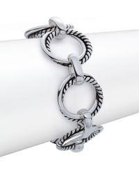 Lauren by Ralph Lauren Ring Chain Link Bracelet - Metallic