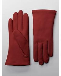 Lord & Taylor - Cashmere-lined Leather Gloves - Lyst