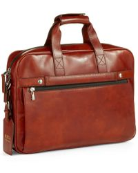 Bosca - Single Gusset Messenger Bag - Lyst