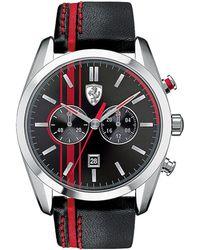 Ferrari - D50 Stainless Steel Chronograph Watch - Lyst