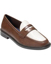 Cole Haan - Pinch Campus Leather Penny Loafers - Lyst