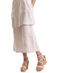 Svilu - Leda Organic Cotton Culottes - Lyst