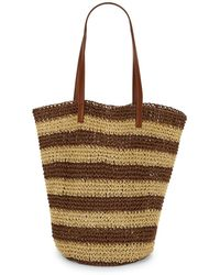 Lord & Taylor - Field Brow Striped Shopper - Lyst