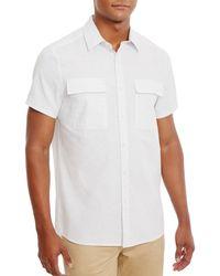 Kenneth Cole - Men's Cotton Shirt - Lyst