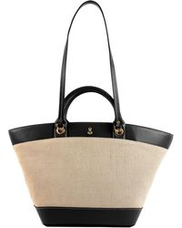 London Fog - Polle Leather Tote - Lyst