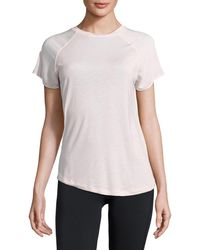 Bench - Mixed Texture Performance Tee - Lyst