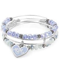 ALEX AND ANI - Expandable Mom Charm Bracelet - Lyst