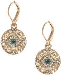 Lonna & Lilly - Evil Eye Drop Earrings - Lyst