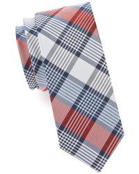 Cole Haan - Plaid Silk Tie - Lyst