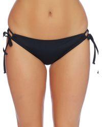 Reef - Tunnel Solid Side-tie Bikini Bottom - Lyst