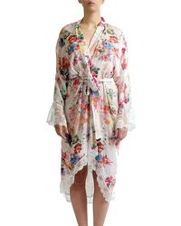 Rya Collection - Multi Flower Princess Chiffon Robe - Lyst