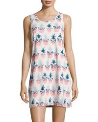 Munki Munki - Pineapple-print Pyjama Dress - Lyst