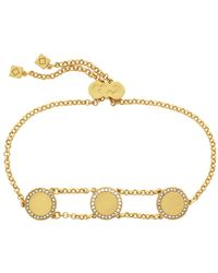 Cole Haan - 3/25 Madison Ave Pave Core Pull-tie Bracelet - Lyst