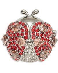 Nadri - Crystal Ladybug Pin - Lyst
